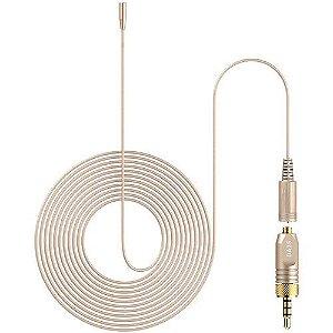 Deity Microfones W.Lav Micro com DA35 Adaptador (para Sennheiser)