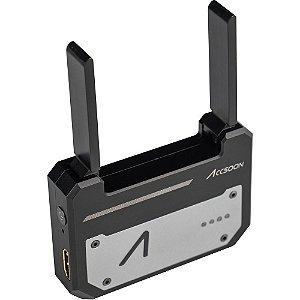 Transmissor de vídeo sem fio Accsoon CineEye com 5 GHz Wi-Fi para até 4 dispositivos móveis