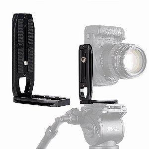 UURig R004 Placa L de liberação rápida para câmera universal