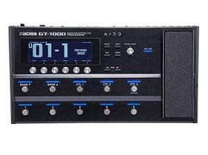 Pedal Boss para Guitarra GT-1000 Multi Efeitos
