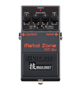 Pedal Boss para Guitarra Waza Craft MT-2w Metal Zone