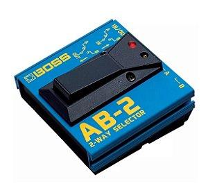 Pedal Boss para Guitarra A-B Box AB-2