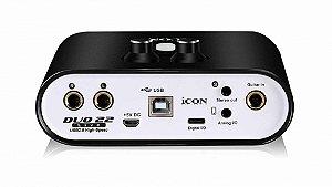 Interface de Áudio Icon Duo22live 2 Canais