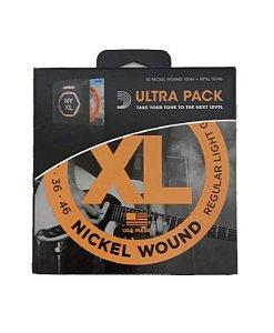 Encordoamento D'addario Violão Nickel Wound EXL110+NYXL1046