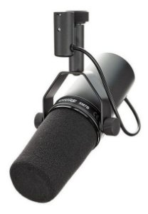 MICROFONE SHURE STUDIO VOCAL SM7B CARDIOID 2 ANOS DE GARANTI