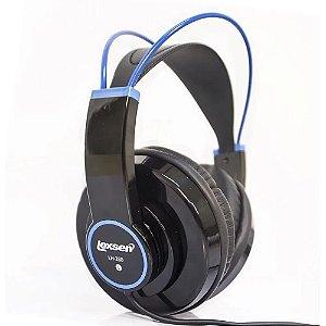 Fone de Ouvido Lexsen Headphone Lh280bl Azul Total Imersão
