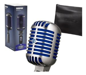 Microfone Shure Vocal Super 55 Super Cardioide