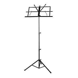 Estante de Partitura Concert MS10 1,3 m Prancheta 41cm 23cm