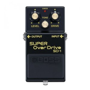 Pedal Boss Super Overdrive SD-1-4A 40th Anniversary Especial