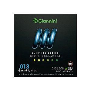 Encordoamento Giannini Guitarra Niquel 013 GEEGST13