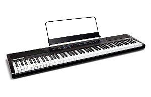 Piano Digital Alesis 88 Teclas semi-pesadas Recital