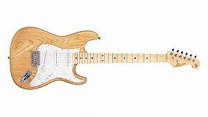 Guitarra Sx Vintage Stratocaster Sst Swamp Ash Natural Sstas