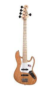 Contra Baixo SX SJB75 Jazz Bass 4 Cordas ASH - NATURAL