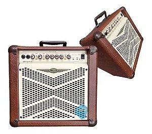 Amplificador Oneal cubo Violao Ocv210 50 W MARROM