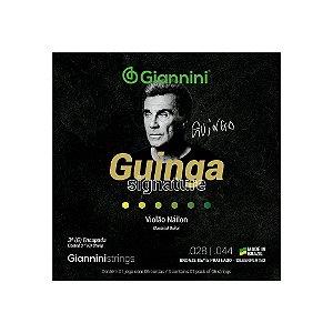Encordoamento Giannini Violão Nylon Guinga 85/15 SSCGG