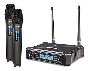 Microfone Sem Fio Duplo Tagima Tagsound Tag Tmj-800 Bivolt