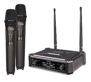 Microfone Sem Fio Tagsound Tag Tmj 500 Duplo Tagima Bivolt