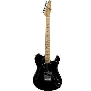 Guitarra Tagima Eletrica T-920 Semi Acústica DF Preto