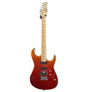 Guitarra Tagima Eletrica STELLA H3 Fade Metallic Orange