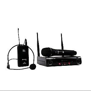 Sistema KADOSH Microfone S/FIO K-412C