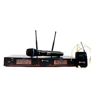 Sistema KADOSH Microfone S/FIO K-882C