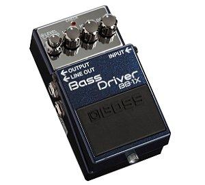 Pedal Boss BB-1X para guitarra Bass Driver