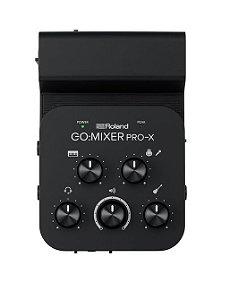 Interface de Áudio Roland - GO MIXER PRO-X Smartphones