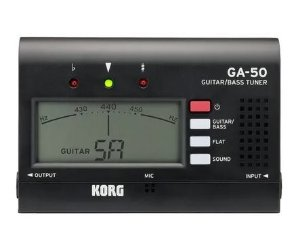 Afinador KORG Compacto GA-50 para Guitarra e Baixo