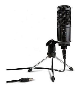 Kit Microfone SOUNDVOICE Condensador Lite Soundcasting 1200