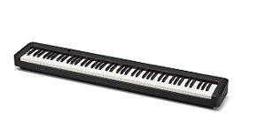 Piano Digital CASIO CDP-S160 C2 Preto - 88 teclas