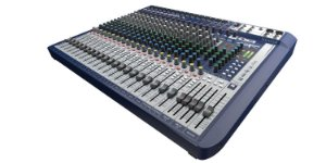 Mesa de Som Soundcraft Signature 22 - 22 Canais