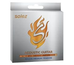 ENCORDOAMENTO SOLEZ VIOLAO NYLON MEDIUM TENSION SLC M -