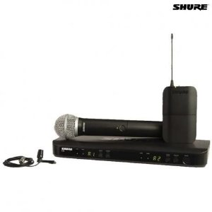 SISTEMA SHURE S/FIO BLX1288BR/CVL-M15