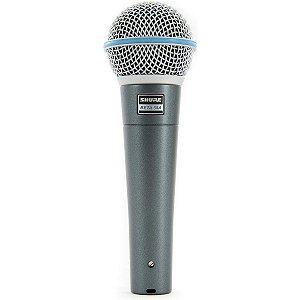 MICROFONE SHURE VOCAL BETA58A