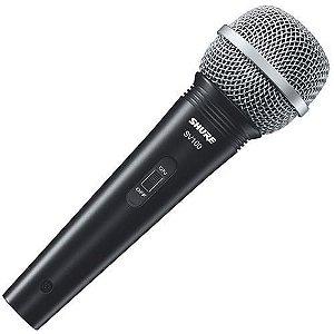 MICROFONE SHURE VOCAL C/FIO SV100
