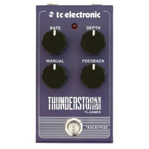PEDAL TC ELETRONICS THUNDERSTORM FLANGER Nr Serie: S170902355CB0 /