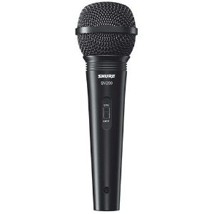 MICROFONE SHURE VOCAL C/FIO SV200