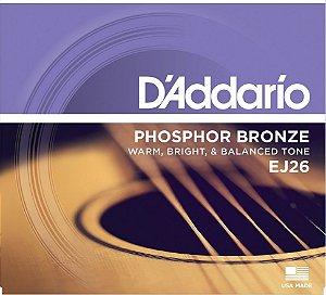 ENCORDOAMENTO DADDARIO VIOLAO ACO XTABR 11 52