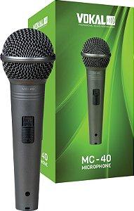 MICROFONE VOKAL MC40 COM FIO