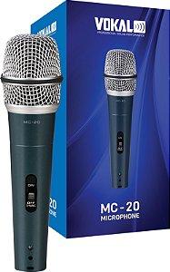 MICROFONE VOKAL MC20 COM FIO