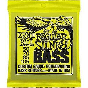 ENCORD. ERNIE BALL 050-105 P/ BAIXO 4 CORDAS SUPER SLINKY