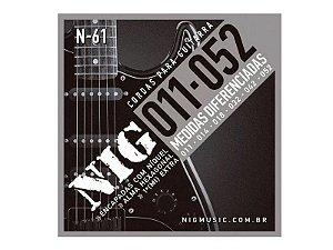 ENCORDOAMENTO  NIG GUITARRA.011/.052 TRADICIONAL