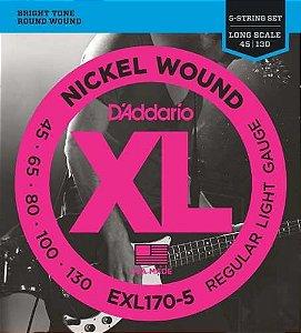 ENCORDOAMENTO DADDARIO BXO 5C EXL170-5 045