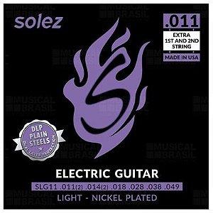 ENCORDOAMENTO SOLEZ GUITARRA 0.011 SLG11