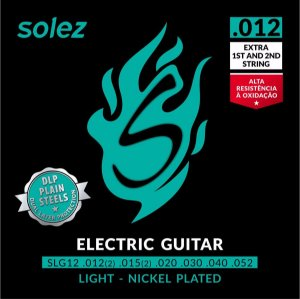 "ENCORDOAMENTO SOLEZ GUITARRA 0.012"" - SLG12"