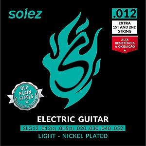 "ENCORDOAMENTO SOLEZ GUITARRA 0.012"" - SLG12"
