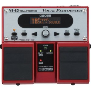 PEDAL BOSS VE-20 VOCAL PROCESSOR