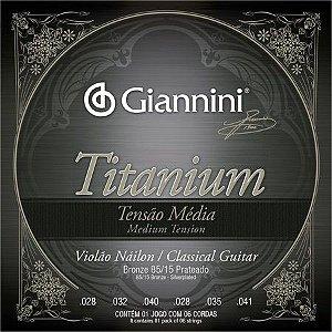 ENCORDOAMENTO  GIANNINI VIOLAO TITANIUN 85/15