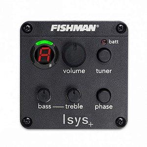 PRE EQ FISHMAN PRESYS OEM-ISY-301 C/CAP SONICORE P/VIOLAO