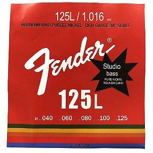 ENCORD.  FENDER BAIXO 4 CORDAS 0.40 125L